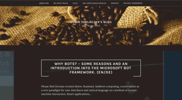 robinsedlaczek.com