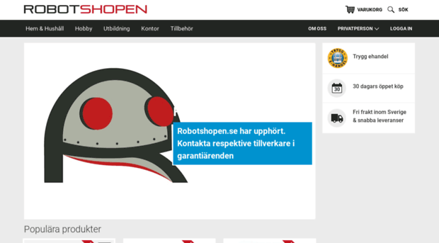 Robotshopen