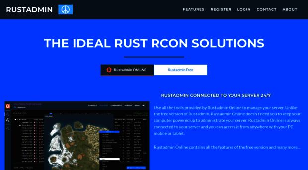 Rust Admin RCON tool