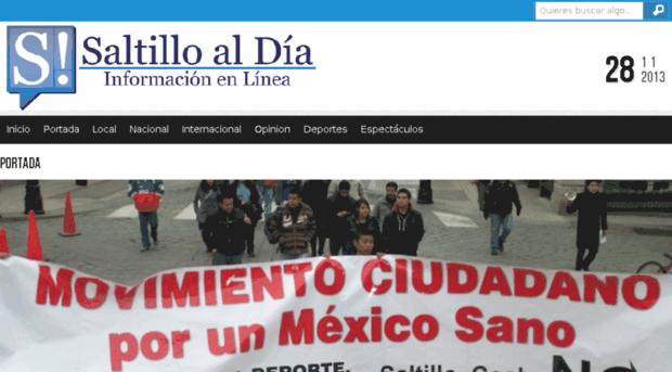 saltilloaldia.com