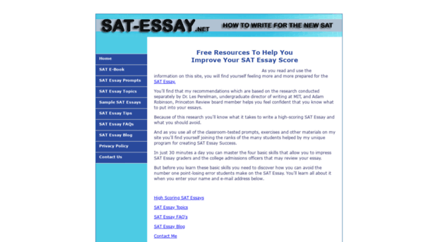 does the essay portion of the sat count The ivy league is in a dead split on requiring the sat's optional essay, leaving the country's top students little option but to take that part of the test.
