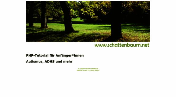 schattenbaum.net