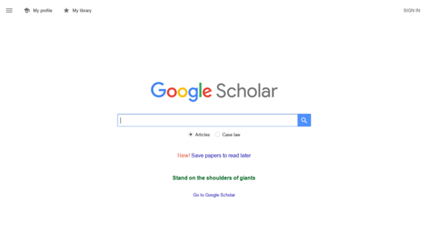 Image Result For Google Scholar