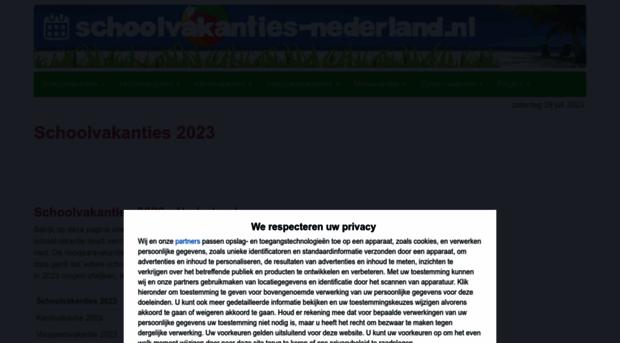 schoolvakanties-nederland.nl
