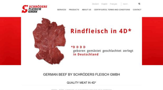 schroedersfleisch.de
