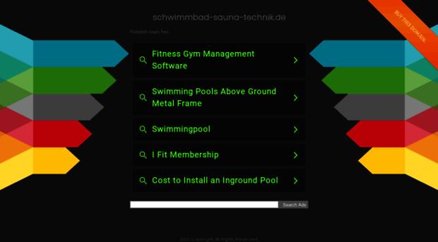 schwimmbad-sauna-technik.de