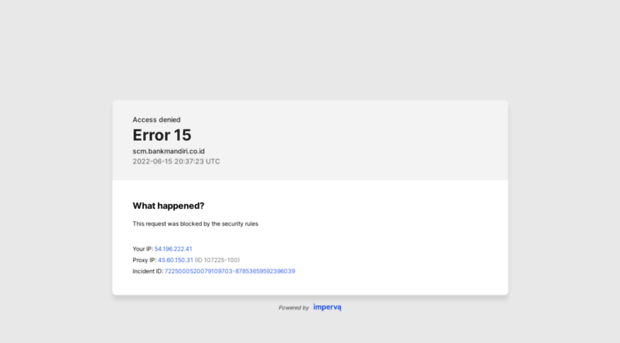 Scm Bankmandiri Co Id Mandiri Supply Chain Scm Bank Mandiri