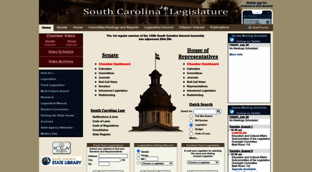 scstatehouse.gov