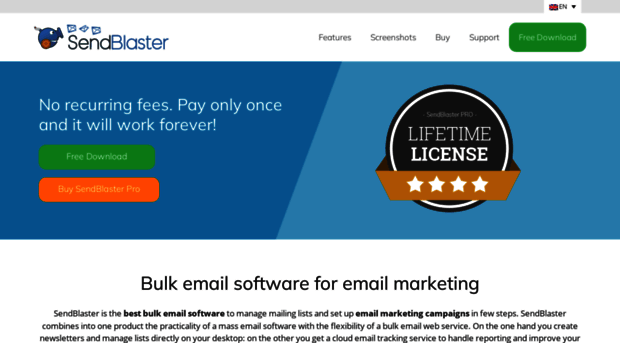 sendblaster free download full version
