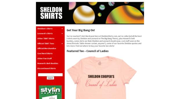 sheldonshirts.com