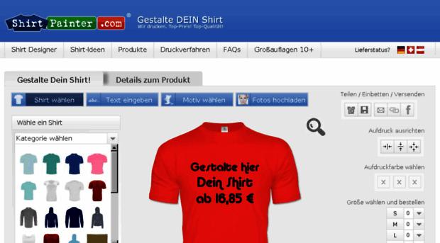 shirtpainter.com