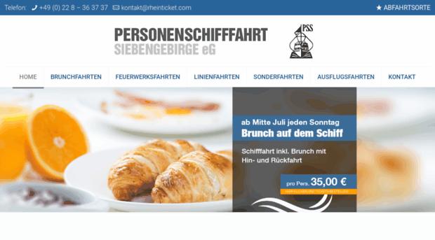 siebengebirgslinie-bonn.de