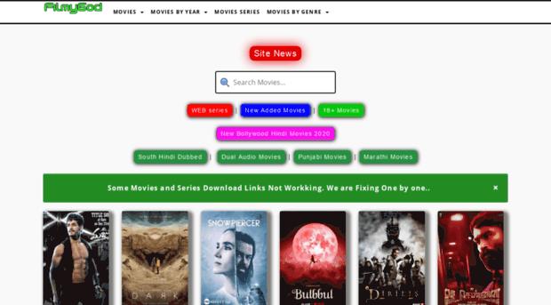 Filmygod 2020-Filmygod Illegal HD Hindi Movies Download Website, Latest Filmygod Movies News