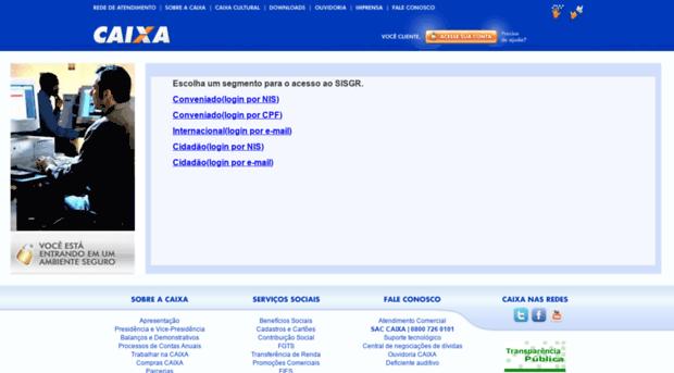sisgr.caixa.gov.br