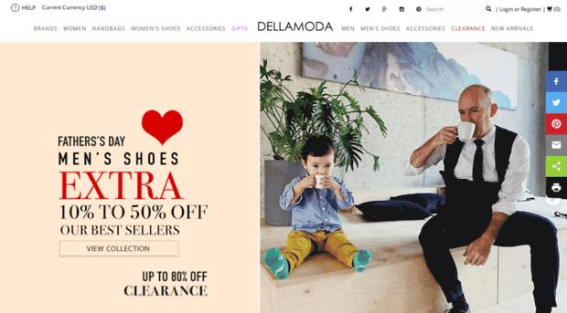 site.dellamoda.com