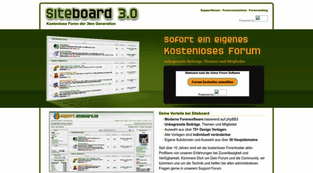 siteboard.de