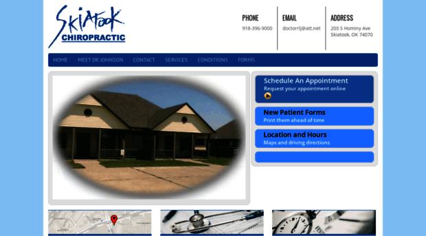 skiatookchiropracticclinic.com