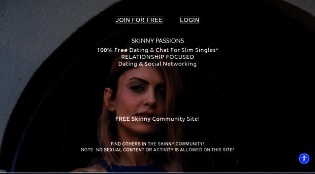 Skinny girl dating-website