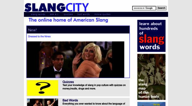Slang names for sex — 15