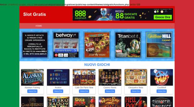 Gioca gratis online slot machine da bar