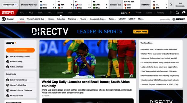 soccernet.com - Soccer News and Scores - ESPN ... - Soccer Net Soccer News Espn
