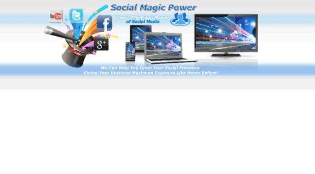 socialmagicpower.com