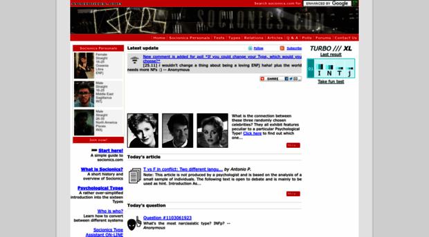 socionics.com