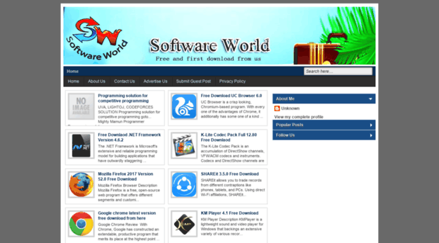 Softwareworld It Blogspot Com Software World Free And Firs Software World It Blogspot