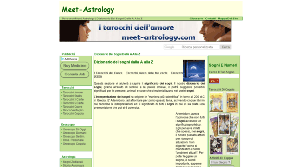 meet astrology dizionario sogni a z