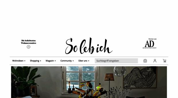 wohne wie es dir so leb ich. Black Bedroom Furniture Sets. Home Design Ideas