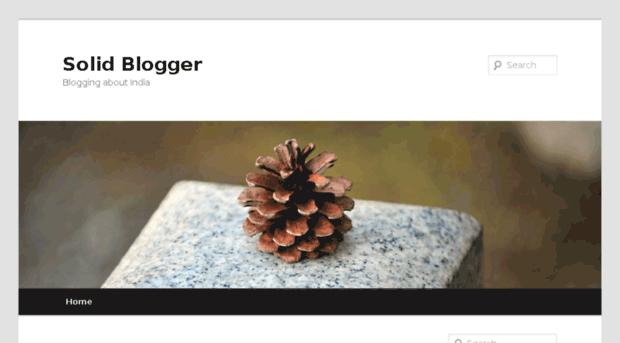 solidblogger.in