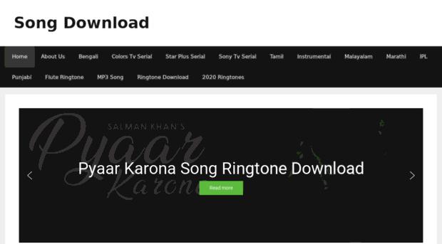 Songringtonedownload Com New Hindi Movie Songs Download Song Ringtone Download
