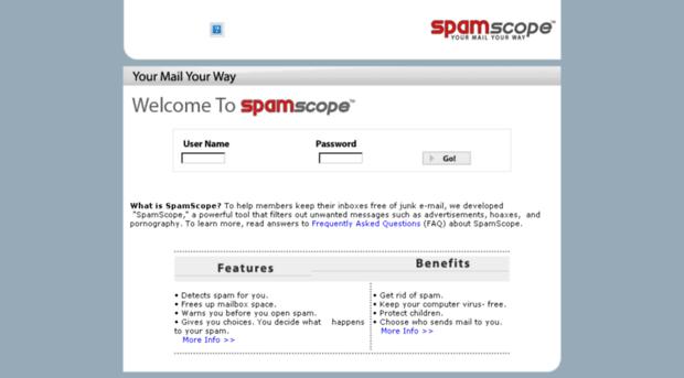 spamscope.gatorworks.com