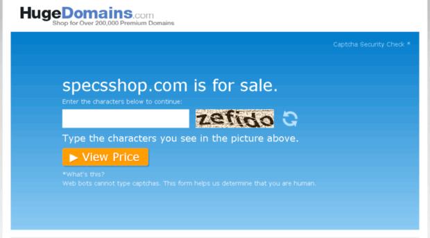 specsshop.com
