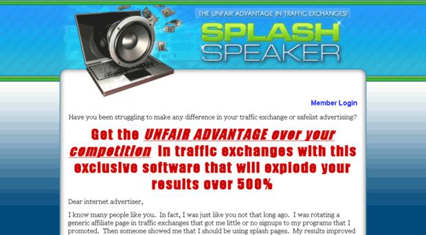 splashspeaker.com
