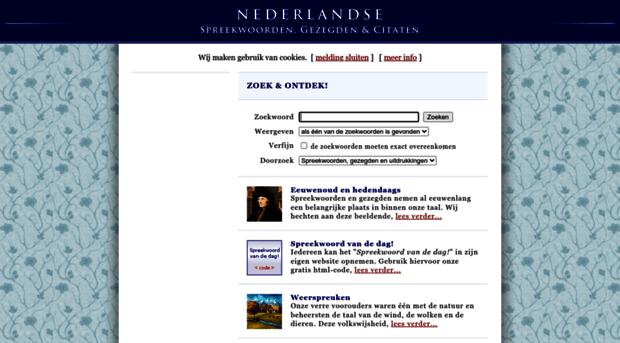 Citaten Betekenis : Spreekwoord nederlandse spreekwoorden gez