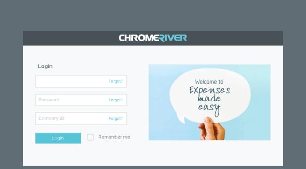 Staging App Chromeriver Com Chrome River Login Staging App Chrome River