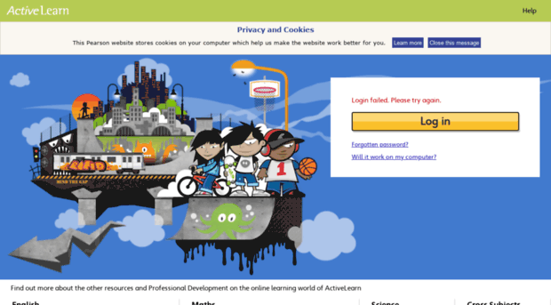 staging.activelearnprimary.co.uk - ActiveLearn: Login - Staging ...