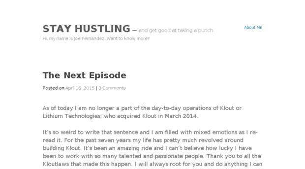 stayhustling.com