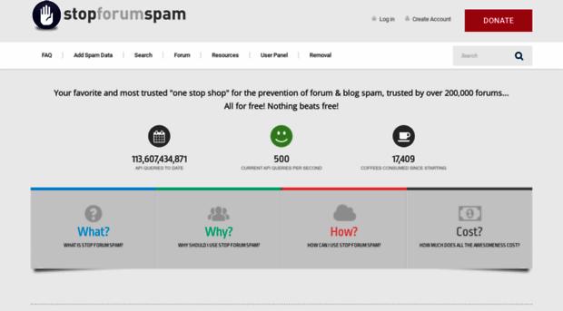 stopforumspam.com