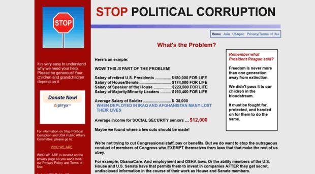 an analysis on money that corrupts politics