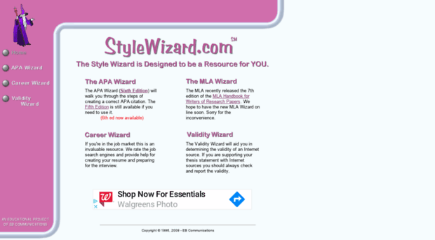 apa style wizard Find out how our software for apa format styles can help you write your paper in perfect apa style.