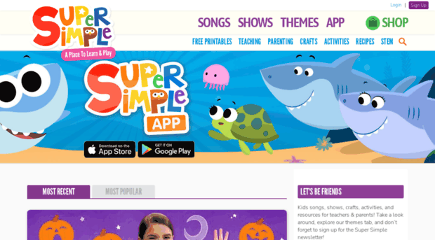 Super Simple Kids Songs Safe