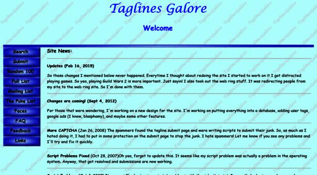 taglinesgalore.com