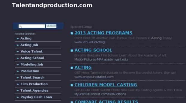 talentandproduction.com