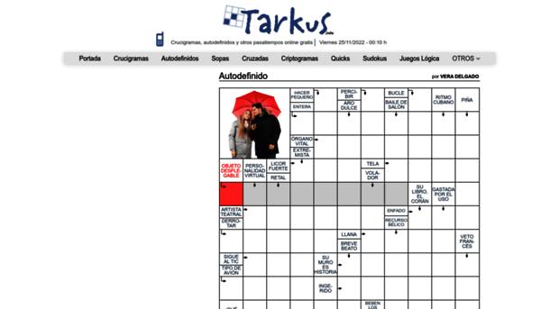 Tarkus Info Pasatiempos Online Y Gratis Tarkus