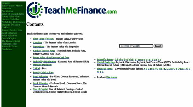 teachmefinance.com