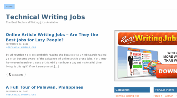 technical writing website