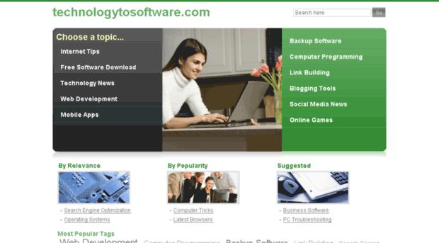 technologytosoftware.com