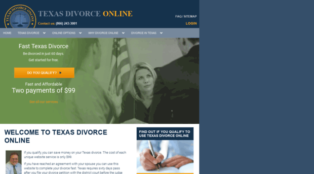 divorce papers for texas